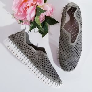 ILSE JACOBSEN Tulip Perforated Trainers Sneakers 9